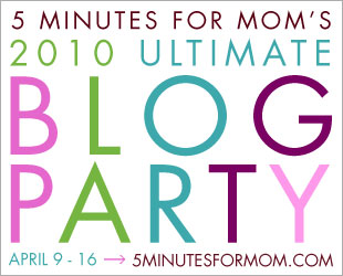 We are going to be participating in the Ultimate Blog Party!
