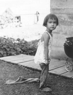 My mom as a little girl.