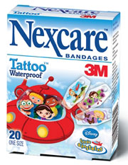 Nexcare Tattoo Bandages for Kids
