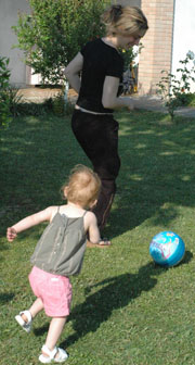 Soccer with Auntie Mary-Lynn