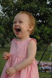 Julia Laughing