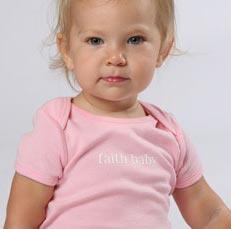 Blessed Baby - Faith Baby Onesie