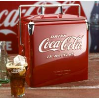Coke Classic Picnic Cooler