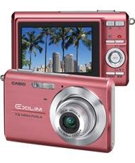 Casio Pink EX-Z75