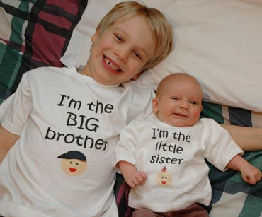 Celebrating Brothers and Sisters with Cute as a Bug