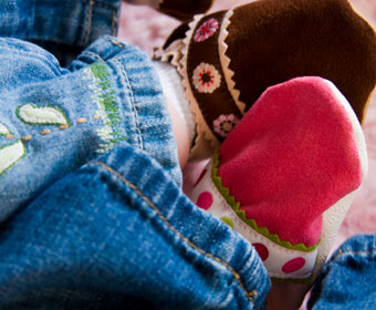 IsaBooties™ – Some Funky Soft Soled Shoes!