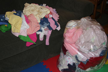 Tackle It Tuesday – Sorting Clothes