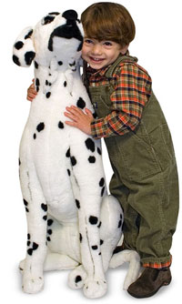 Life Size Stuffed Dalmation