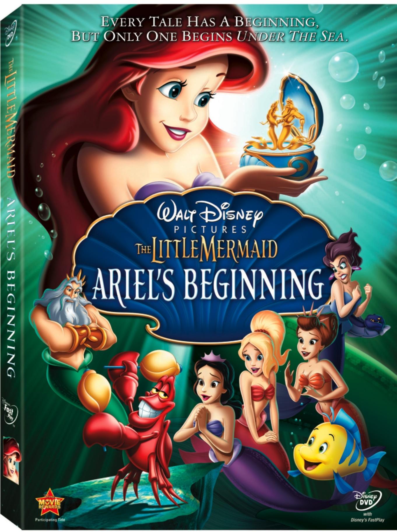 Win The Little Mermaid: Ariel's Beginning