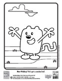 abe wubbzy coloring sheet 2