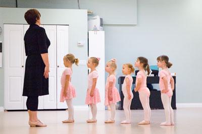 Julia\'s First Ballet Class