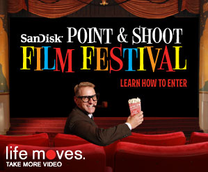 SanDisk Point and Shoot Film Festival