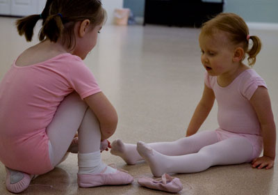 Wordless Wednesday – First Day of Ballet