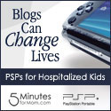 Banner Codes for Blogs Can Change Lives — PSPs For Hospitalized Kids