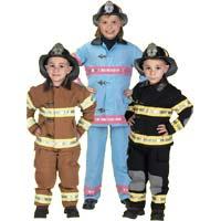 Junior Fire Fighter Suit with Helmet