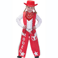 Junior Cowgirl Dress Up Outfit