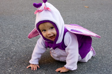 With kids this cute, maybe Halloween isn't all bad…
