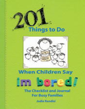 5 Minutes for Books: 201 Things to Do When Children Say I'M BORED!