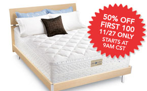 Yes – we are seriously giving away a SLEEP NUMBER BED!