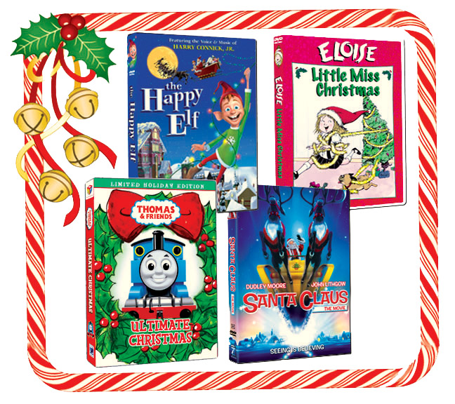 Christmas DVDs for all ages and stages