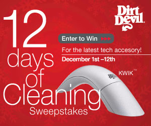 Winners Every Day in our 12 Days of Cleaning