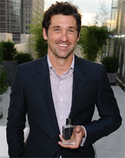 Patrick Dempsey — Unscripted in Scent… and with us Mom Bloggers!