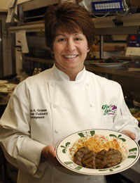 Chef Marie Grimm