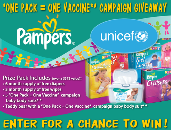 UNICEF and Pampers Team Up to Protect Babies