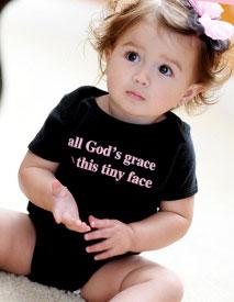 Win a Faith Baby Onesie!
