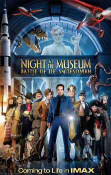 Immerse Yourself in The Night at the Museum: Battle of the Smithsonian: IMAX Experience