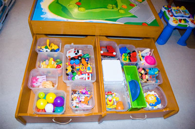 Toy Drawers After