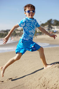 Boys rash guard and shorts