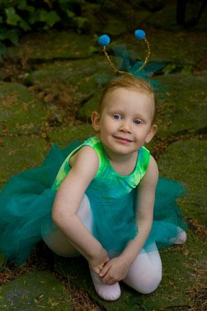 Wordless Wednesday — My Little Ballerina
