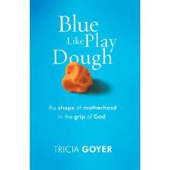 5 Minutes for Books:  Blue Like Playdough