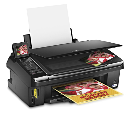 Win your very own Epson Stylus NX515 all-in-one printer!