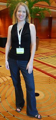 Susan wearing Kmart Jeans