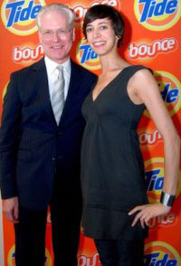 Gwen Bell with Tim Gunn