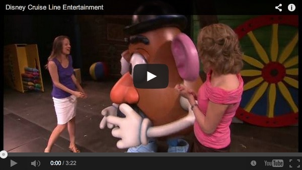 Disney Cruise Line Entertainment Video
