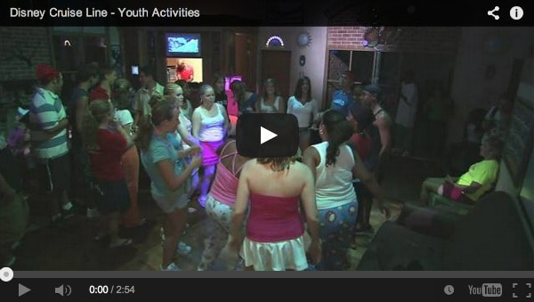 Disney Cruise Youth Activities