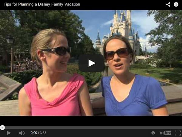 Disney Family Vacation Tips Video