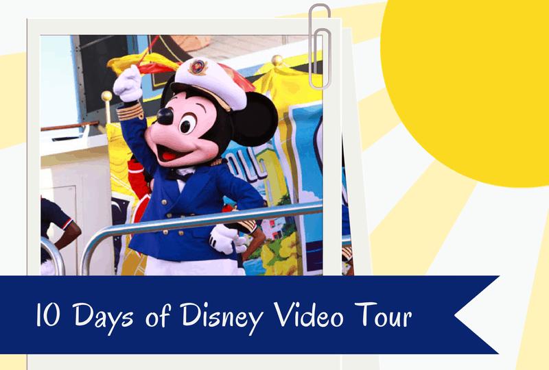 Disney Tips - 10 Days of Disney Videos