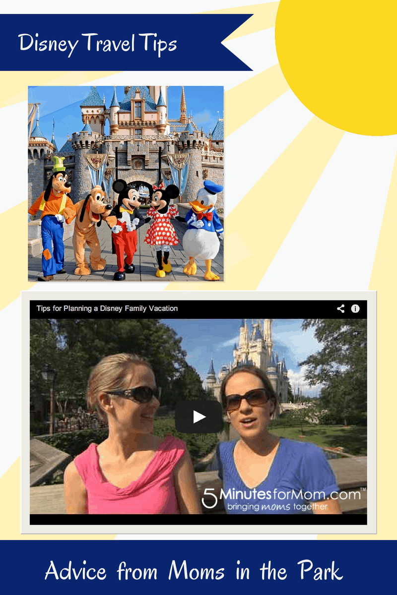 Disney Tips - Advice from Moms in the Park