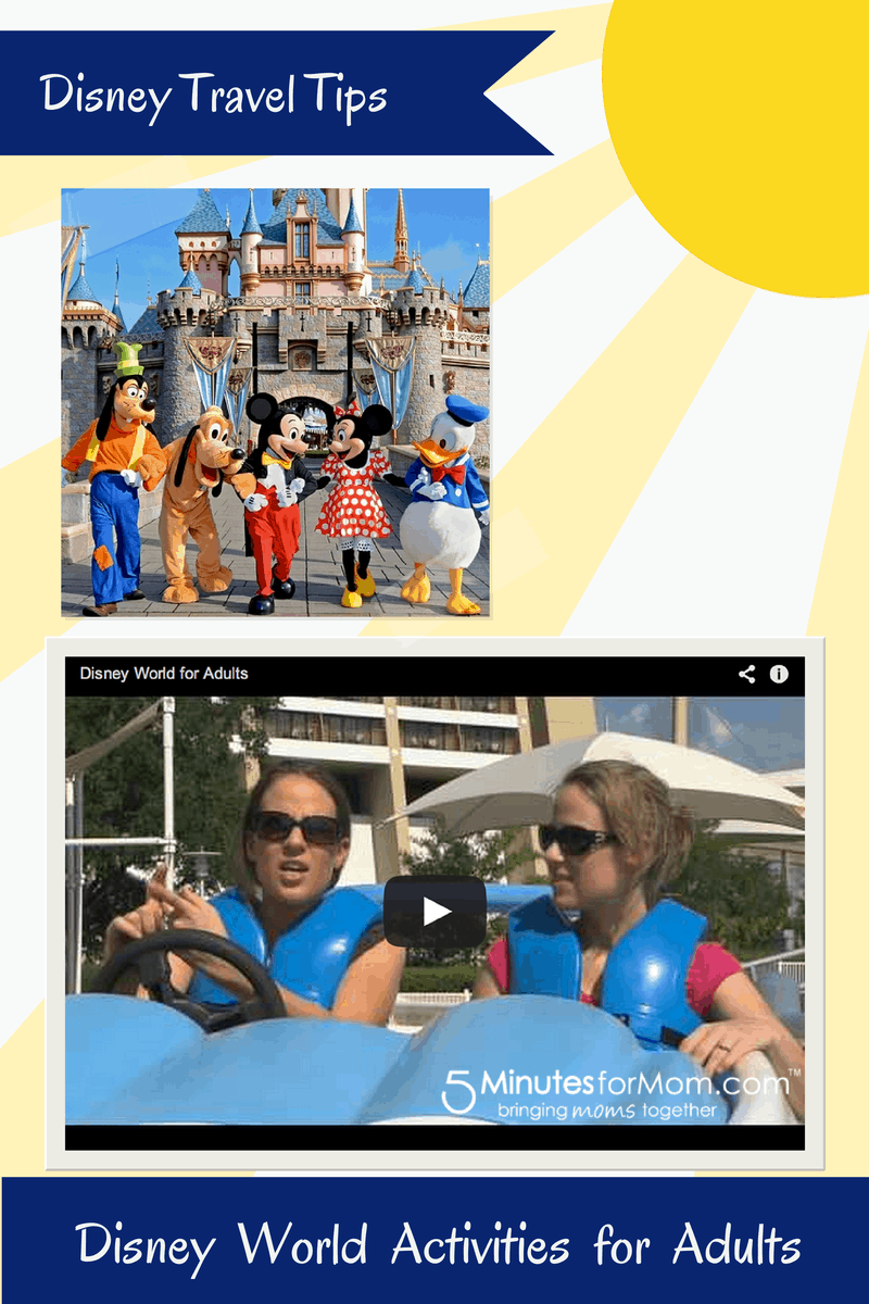 Disney Tips - Disney World Activities for Adults