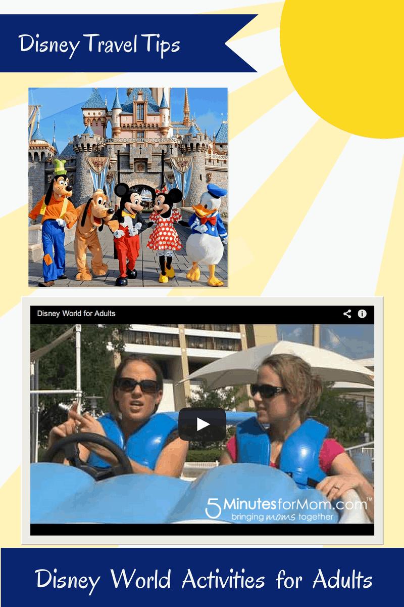 Disney Tips - Disney World Activities for Adults