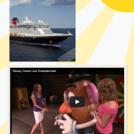 Day 5 in our Disney Video Tour — Disney Cruise Line Entertainment