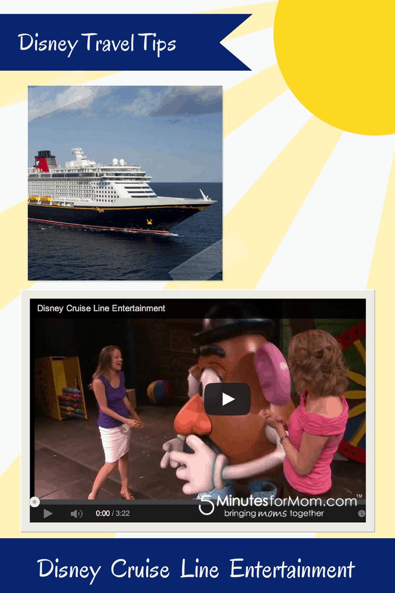 Disney Tips - Disney Cruise Line Entertainment