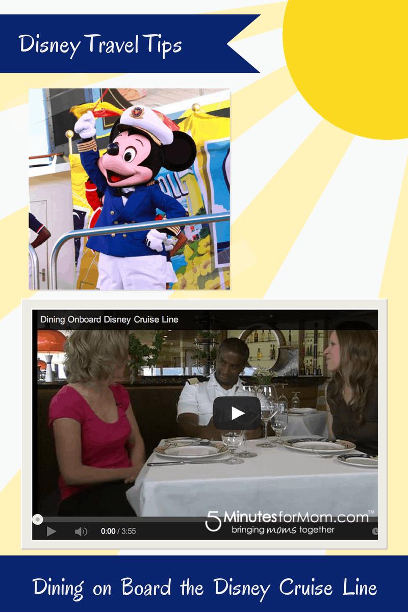 Disney Tips - Disney Cruise Line Dining