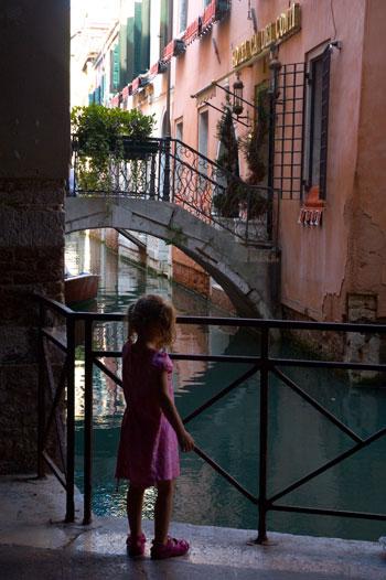 Julia in Venice