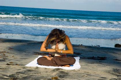 Kashi Yoga on the Beach