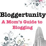 Bloggertunity — A new ebook for Mom Bloggers